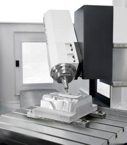 proceso de fresado CNC